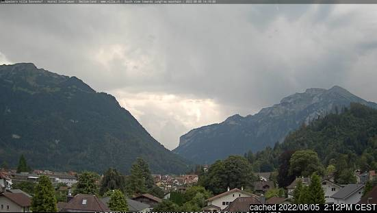 Webcam de Interlaken a las 2 de la tarde ayer