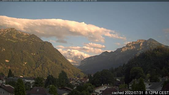 Live webcam per Interlaken se disponibile