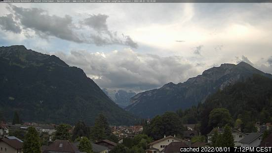 Webcam en vivo para Interlaken