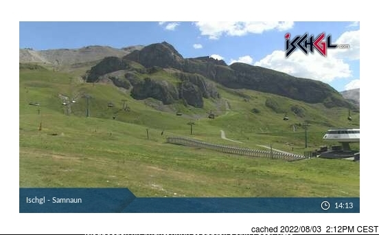 Webcam de Ischgl à 14h hier