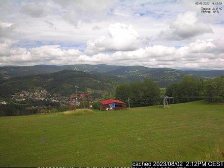 Jablonec nad Jizerou - Kamenec webcam at 2pm yesterday