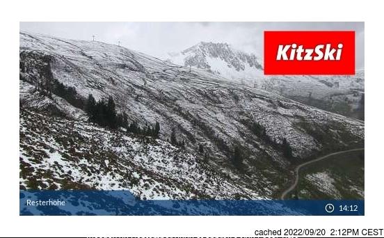 Webcam de Jochberg/Pass Thurn a las 2 de la tarde ayer