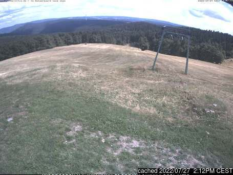 Kandel (Kandellifte) webcam at 2pm yesterday
