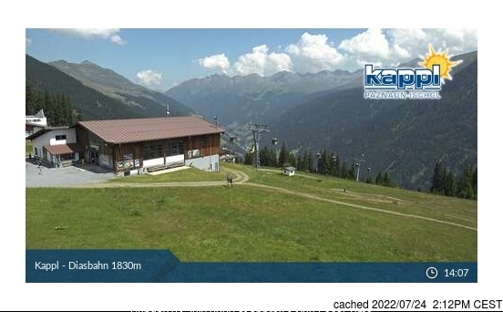 Kappl webcam at lunchtime today