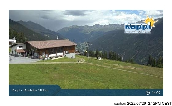 Webcam de Kappl à 14h hier