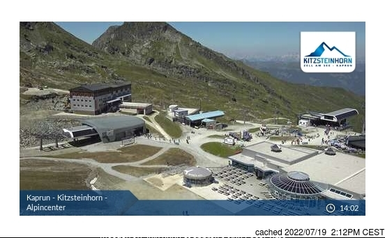 Kaprun webcam at 2pm yesterday
