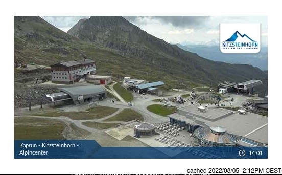 Webcam de Kaprun à 14h hier