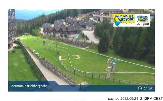 Katschberg-Aineck webcam heute beim Mittagessen