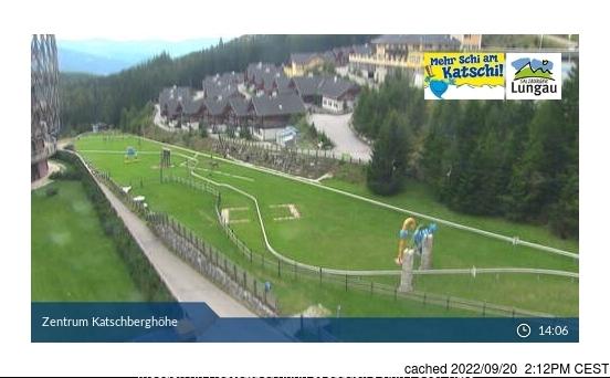 Katschberg-Aineck webkamera ze včerejška ve 14 hod.