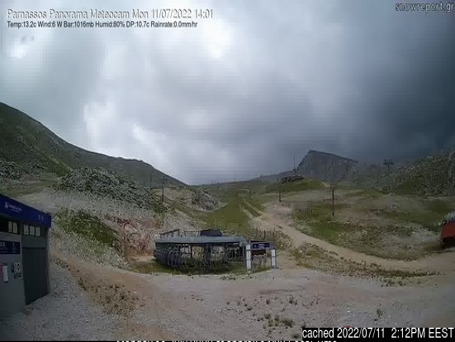 Κάμερα σε Mt Parnassos-Kelaria στις 2μμ χθές