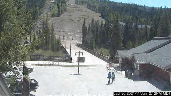 Keystone webcam at 2pm yesterday