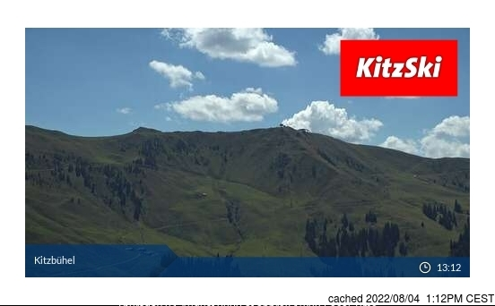 Kitzbühel webcam at lunchtime today