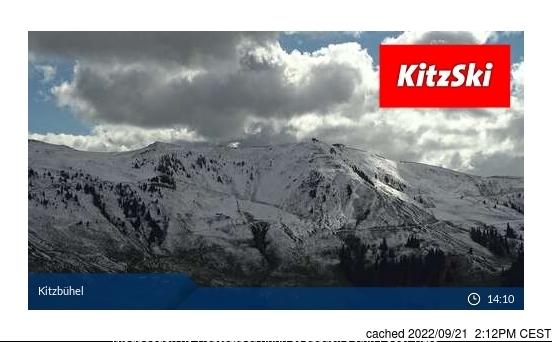 dün saat 14:00'te Kitzbühel'deki webcam