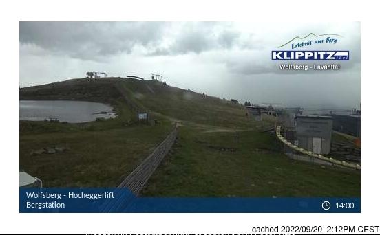 Webcam de Klippitztörl a las 2 de la tarde ayer