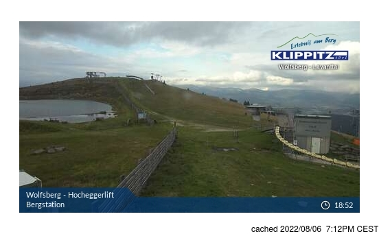 Live webcam per Klippitztörl se disponibile