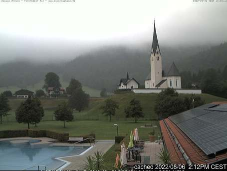 Kreuth Hexenwald webcam at lunchtime today