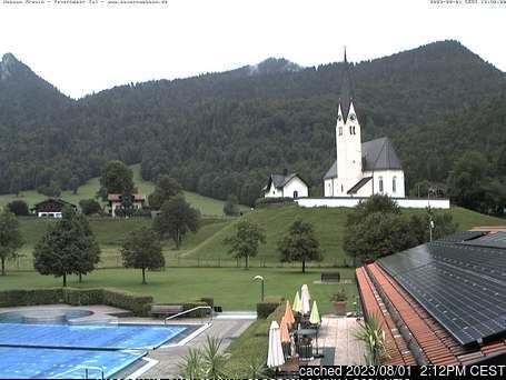 Webcam de Kreuth Hexenwald a las 2 de la tarde ayer