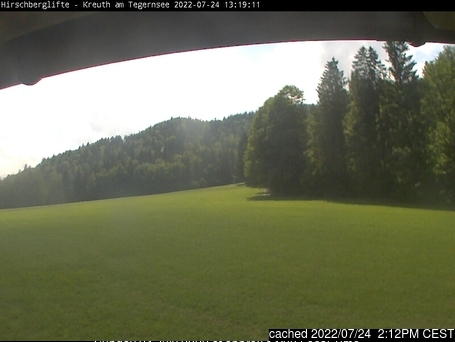 Kreuth/Hirschberg webcam at 2pm yesterday