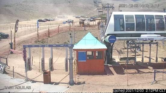 Webcam de La Parva a las doce hoy