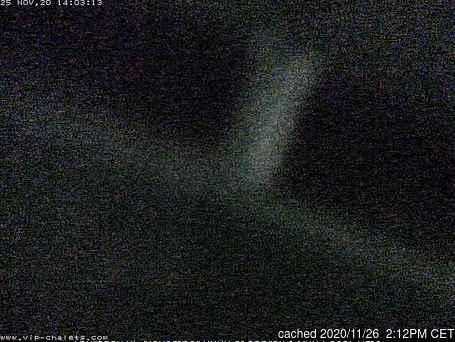 La Plagne webcam alle 2 di ieri sera