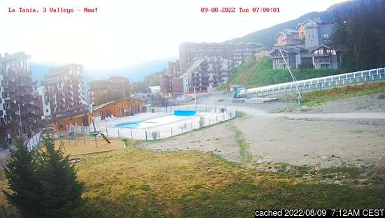 Live webcam per La Tania se disponibile