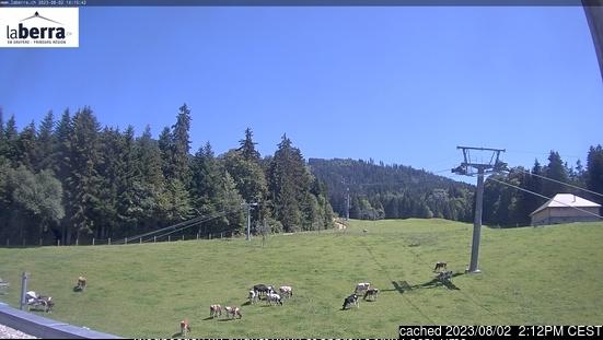 La Berra - La Roche webbkamera vid kl 14.00 igår
