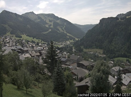 Live webcam per La Chapelle d'Abondance se disponibile