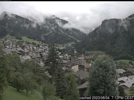 Live snöwebbkamera för La Chapelle d'Abondance