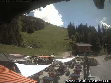 La Fouly - Val Ferret Webcam gestern um 14.00Uhr