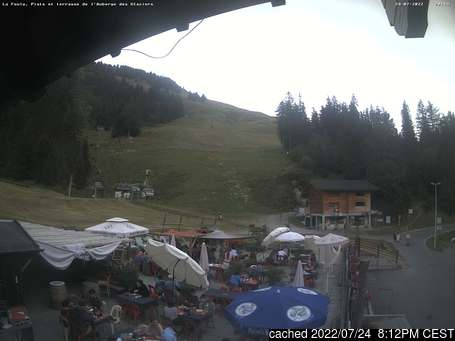 Live webcam per La Fouly - Val Ferret se disponibile