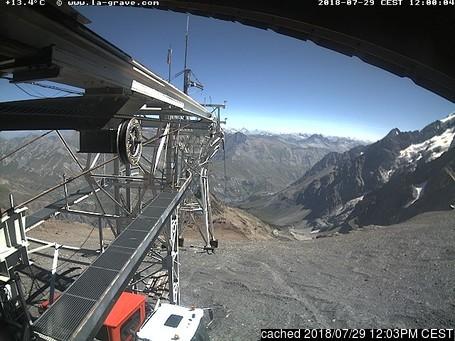 Webcam de La Grave-La Meije à midi aujourd'hui