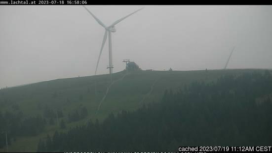 Webcam de Lachtal a las 2 de la tarde ayer