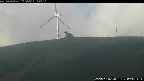 Live Snow webcam for Lachtal