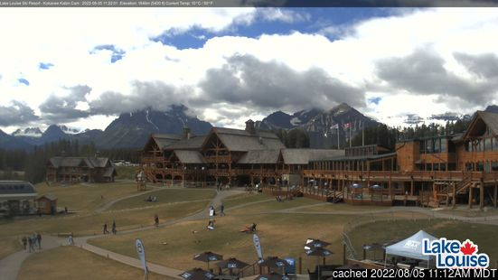 Live Sneeuw Webcam voor Lake Louise