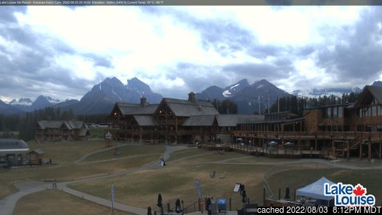 Live Snow webcam for Lake Louise