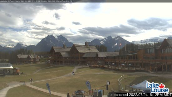 Live webcam per Lake Louise se disponibile