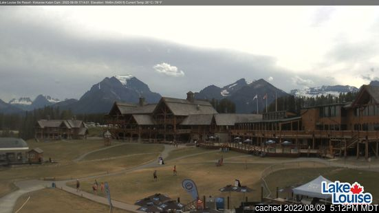 Webcam Live pour Lake Louise