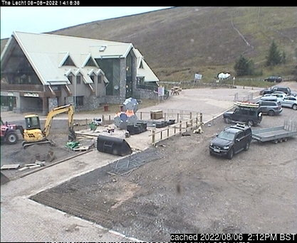 The Lecht webcam at lunchtime today
