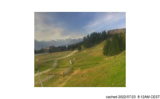 Live webcam per Les Arcs se disponibile
