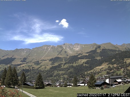 Live Snow webcam for Les Diablerets