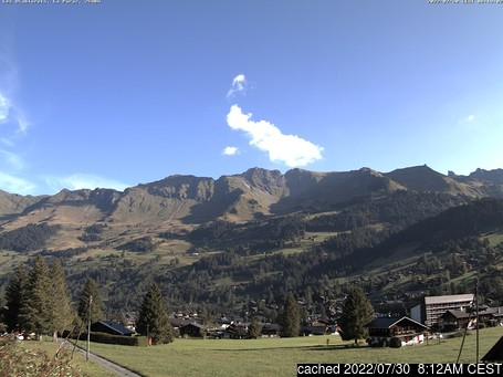Live webcam per Les Diablerets se disponibile