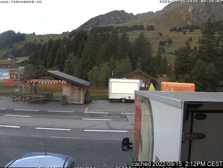 Les Mosses - La Lécherette webkamera ze včerejška ve 14 hod.