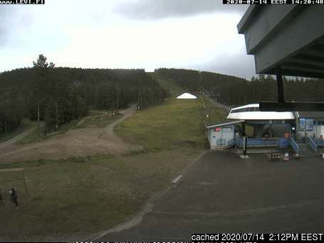 Levi webcam at 2pm yesterday