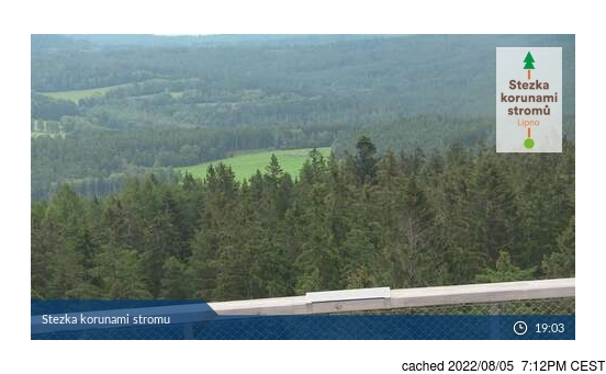 Live webcam per Lipno - Kramolín se disponibile