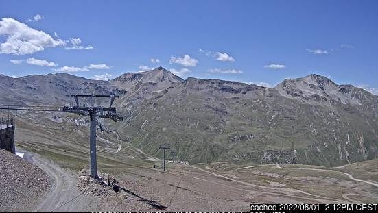 Livigno webcam at 2pm yesterday