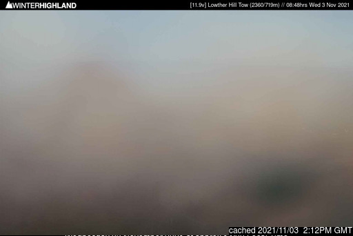 Lowther Hills webcam at 2pm yesterday