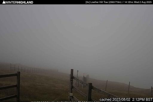 Κάμερα σε Lowther Hills στις 2μμ χθές