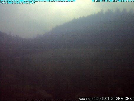 Webcam de Ludwigsstadt/Skizentrum a las 2 de la tarde ayer