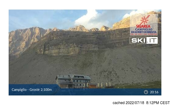 Live webcam per Madonna di Campiglio se disponibile