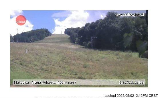 Webcam de Makovica - Nižná Polianka a las 2 de la tarde ayer